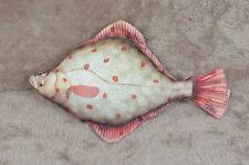 Peces nuevos Almohada Flounder De Peluche Novedad Cojín Almohada Suave Juguete De 41 Cm