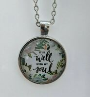 """Women's Bible Verse Silver 20"""" Necklace & Pendant Gift Gifts For Women Quote"""