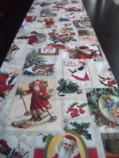 Handgefertigte Tischläufer mit Bildmotiven aus 100% Baumwolle