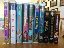 Classic Disney Vhs + Other Vintage Vhs such as Casablanca!