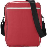Umhängetasche aus Polyester inklusive Fach / Reißverschlusstasche 24 x 30 x 7
