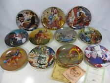 Decorative Clown Plates lot of 11