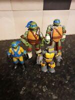 Tmnt Teenage Mutant Ninja Turtles Figures Bundle  viacom