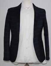Men's Black blazer with Blue check (38)... sample 1316