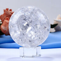 Crystal Ice Crack Ball Ornaments Home Decorative Water Fountains Bonsai Sphere