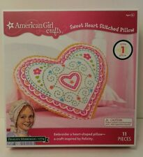 American Girl Sweet Heart Stitched Pillow Kit - Brand New!!