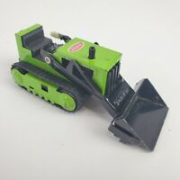 Tonka T-6 Bulldozer metal lime green vintage good condition 1970s Fully Function