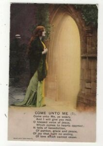 WW1 Come Unto Me Bamforth 4839/1 Vintage Sentimental Postcard 332c