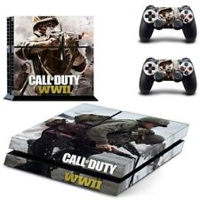 CALL OF DUTY: WWII PS4 Sticker For PlayStation 4 Console & 2 controllers Skin