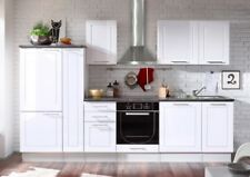 Wexford Küchenzeile Küchenblock Weiss Hochglanz
