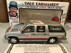 1995 Action Brookfield Dale Earnhardt #3 Silver Chevy Tahoe 1/25 1 of 10,000