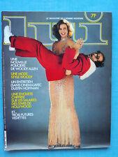 LUI n°196 février 2/1980 - avec poster central - Revue French charme