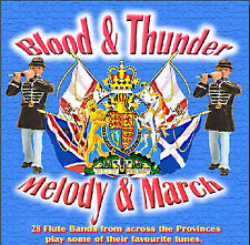 ***BLOOD & THUNDER, MELODY & MARCH***   **NEW**   - LOYALIST/ ORANGE/ULSTER CD