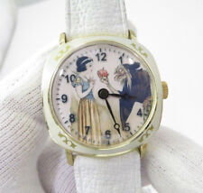 "SNOW WHITE,""Classic Dial,"",Manual Wind,Ultra RARE! UNISEX CHARACTER WATCH,M-14"