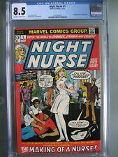 Night Nurse #1 CGC 8.5 Marvel Comics 1972 1st app Linda Carter