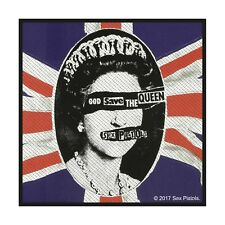 Sex Pistols ' God Save The Queen ' Woven Patch