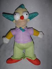 "The Simpsons Krusty the Clown 11"" Nanco Plush Soft Toy Stuffed Animal"