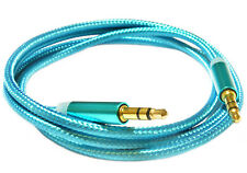 Audio Lead Headphone Car Aux MP3 iPod Mobile Jack 3.5mm Plug Male Cable. 0208