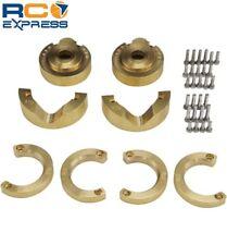 Hot Racing Traxxas TRX-4 Brass Weight Knuckle Portal Cover TRXF21HA