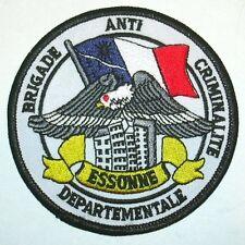 France bac Essonne police écusson patch FRANCE POLICE