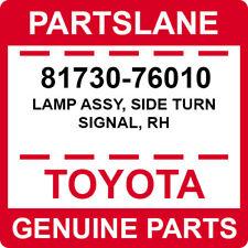 81730-76010 Toyota OEM Genuine LAMP ASSY, SIDE TURN SIGNAL, RH