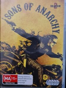 Sons Of Anarchy : Season 2 (4 disc) DVD series two