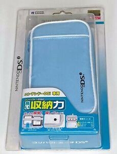 HORI NINTENDO DSi ZIP CARRYING CASE [LIGHT BLUE] BRAND NEW!!