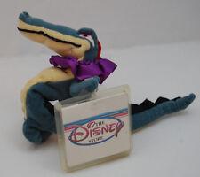 "Croc Alligator Fantasia Movie WT Disney Store Bean Bag Green Plush10""  Toy Lovey"