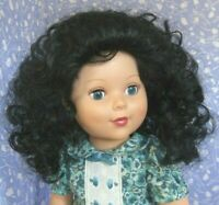 Monique MABLE Black Full Adj. Cap Doll Wig Size 12-13 Super Curly, Afro, Ethnic
