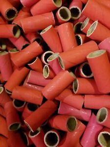 "100 Fireworks Kraft PYRO Cardboard TUBES 9/16"" x 1-1/2"" x 0.05"" wall"