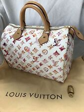 Louis Vuitton Rare Limited Aquarelle Water Color Speedy 30