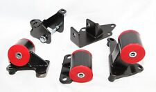 For 96-00 Honda Civic F22 H23/H22 Engine Swap Conversion Motor Mounts Red
