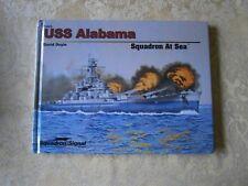 squadron/signal USS Alabama Squadron at Sea 74006 Hardcover 2015 David Doyle