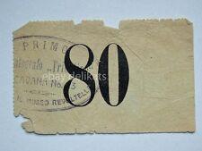 Vecchio biglietto TRIESTE CINEMATOGRAFO TRIESTINO cine cinema Via Cavana
