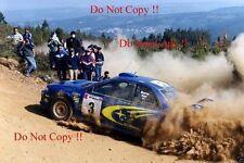 Richard Burns Subaru Impreza WRC2000 Winner Rally of Portugal 2000 Photograph