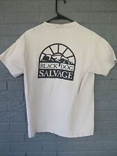 VTG BLACK DOG SALVAGE ROANOKE VIRGINIA LOGO POCKET T SHIRT