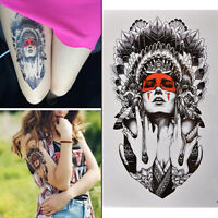 Mujeres atractivas impermeables tatuaje temporal brazo cuerpo tatuajes pegat*QA