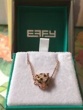*NEW! EFFY 14K Rose Gold & Diamond Panther Bracelet /EFFY/ $1,100/ 1 DAY ONLY!