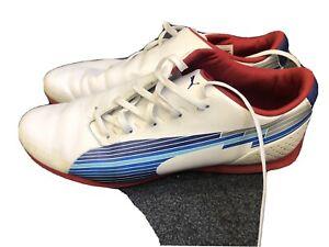 Puma Evo Speed - Trainers Mens Size 8 White/blue