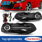 2pcs for 2013-2016 Dodge Dart Clear Front Fog Lights Lamps w/Switch & Wiring US  for sale