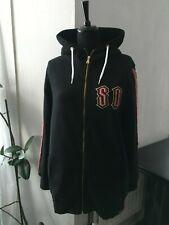 Superdry Black Star Rock Zip Hoodie Jacket - Size 12