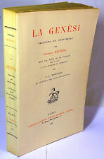 MISTRAL LA GENESI traducho en provençau pèr Frederi Mistral 1910 Champion