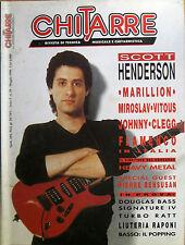 CHITARRE 50 1990 Scott Henderson Miroslav Vitous Steve Rothery Grazia Di Michele