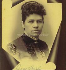 CABINET CARD PHOTO: Post Mortem MEMORIAL Young Black AFRICAN AMERICAN WOMAN (5)