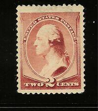 Scott #210, Single 1883 George Washington 2c FVF MH