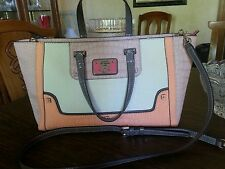 GUESS multi-color handbag