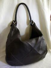 ViViVee Soft Brown Italian Leather Hobo Shouler Bag Handbag Purse Made in Italy