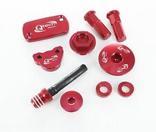 Honda CRF450 CRF 450 BLING Trick KIT Oil Engine Brake Cover Plug Hose Rim Lock