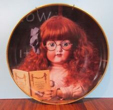 Portrait of Sophie Hanau Doll Museum Franklin Mint Collector Plate