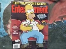 ENTERTAINMENT WEEKLY #945. THE SIMPSONS MOVIE. HOMER COVER. JULY 2007. RARE.